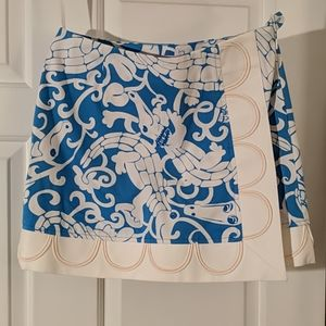 Lilly Pulitzer Gaby Gator Skirt with Liner Shorts